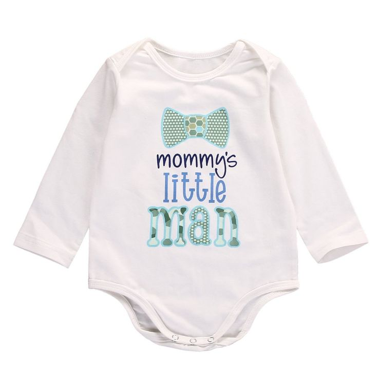 Mommy's Little Man Bodysuit. #petitelapetite #romper #longsleeves #mommy #littleman #sweet #statement #boys #hipster #babyclothes #onesie #onesies #onesieset #bodysuit #fall #spring #babyclothes #bodysuitset #romperset #baby #babies #toddler #toddlers #clothing #cute #toddlerwear #babywear #springclothes #fallclothes #clothes #cotton #babyclothesforsale #cutebabyclothes #coolbabyclothes #uniquebabyclothes #trendybabyclothes  #babyclothessale #babyclothesideas #babyclothesus #freeshipping