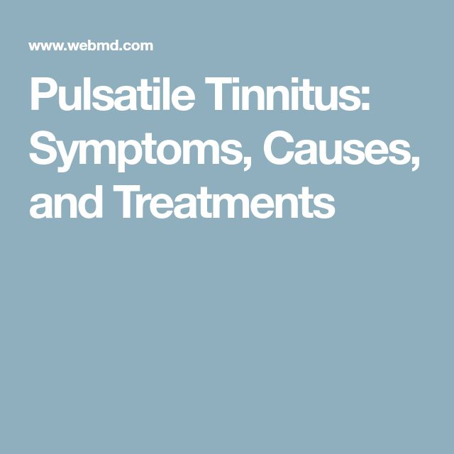 Natural Treatments For Pulsatile Tinnitus
