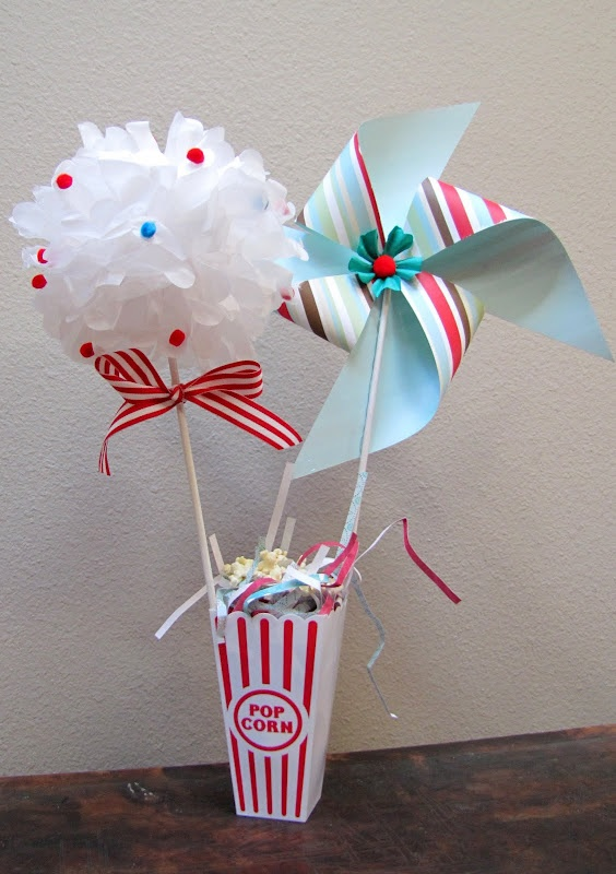 Table decor circus theme baby shower birthday themes for kids and or adults pinterest - Carnival themed baby shower ideas ...