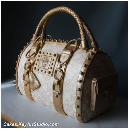 Versace Purse/Bag Cake