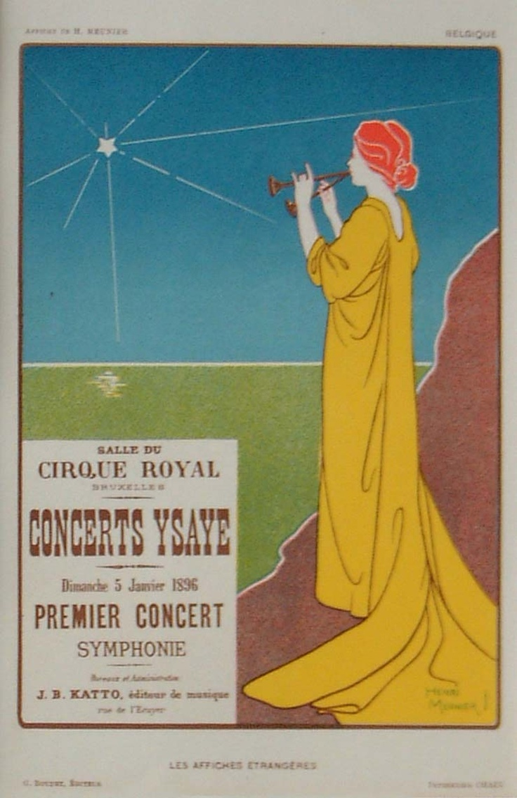 beautiful old symphony concert poster: Posters Inspiration, Picture-Black Posters, Illustration, Music Posters, Posters Ideas, Concerts Posters, Concert Posters