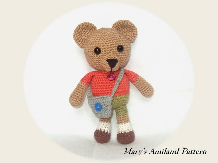 Amigurumi Hummingbird Pattern : 1657 best images about Teddy Bears on Pinterest