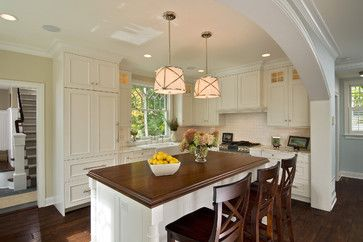 Gray Walled Kitchens