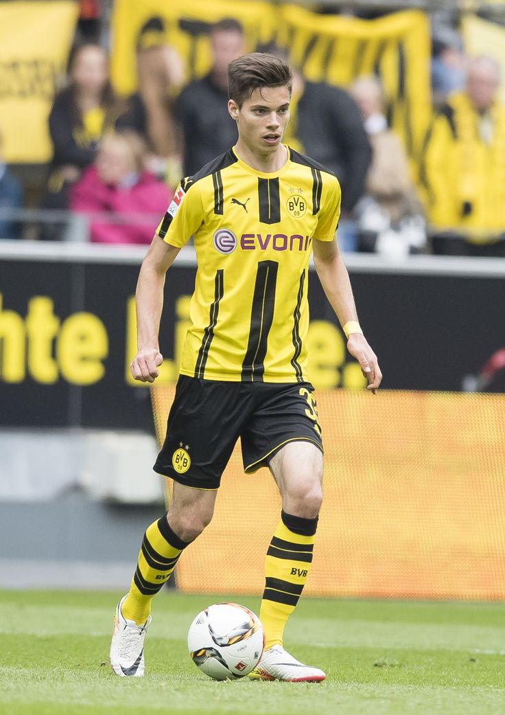 The midfield player came from TSV 1860 München in 2015. He signed a four year contract with Borussia Dortmund. Beside this Julian Weigl played for the national German DFB youth team and scored his first Goal for them in 2014.  Here you can find Julians Home-, Away- and third tricots with his number 33.  EN: http://www.bvbfanshop.com/stores/bvb/en/c/official-jerseys/players/weigl-33 DE: https://shop.bvb.de/team/julian-weigl?utm_source=Pinterest%20&utm_medium=Pin%20&utm_campaign=16920102^