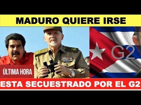 Maduro quiere salir de Venezuela pero el G2 cubano no lo deja - VER VÍDEO -> http://quehubocolombia.com/maduro-quiere-salir-de-venezuela-pero-el-g2-cubano-no-lo-deja    Maduro negocia asilo en Guyana porque quiere salir de Venezuela. En Cuba no lo quieren porque el G2 controla todo y lo usan de titere. Esta llorando en Miraflores luego de la derrota de la Constituyente. MADURO DEBE IRSE. Cuba controla lo que pasa en Venezuela a través de un centro de...