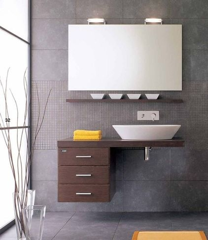 1000 Ideas About Modern Powder Rooms On Pinterest