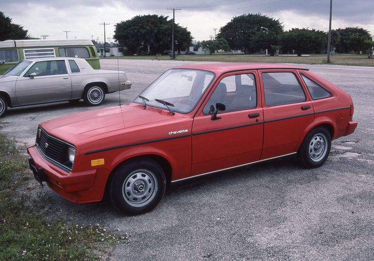 1983 Chevrolet Chevette 4-Door Hatchback