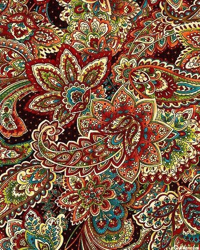 Paisley...the original zentangle