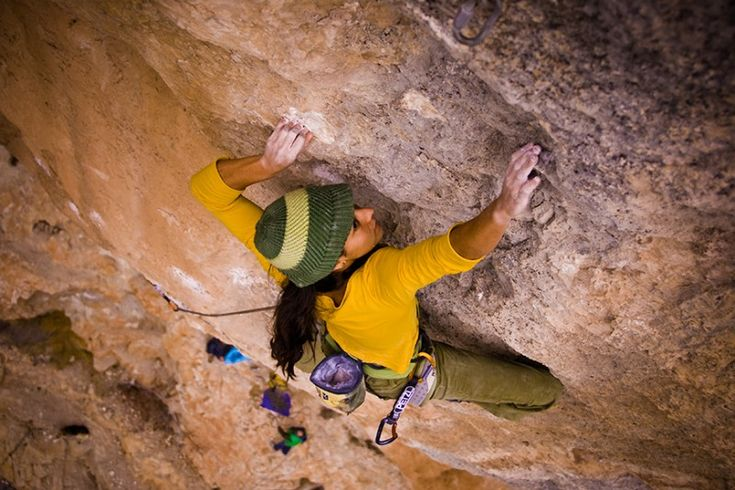 Rock climbing holidays with pros: Coaching by world's best climbers: Daila Ojeda image by Rockbusters
