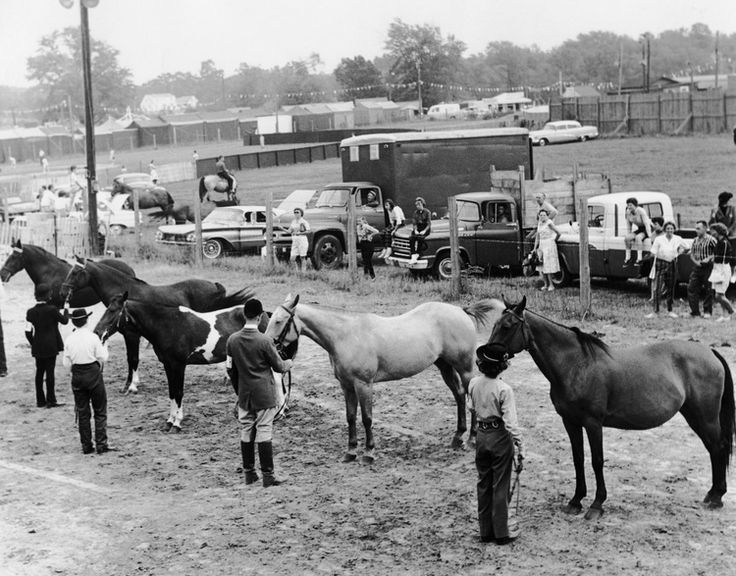 Opening Day At Topsfield Fair 1961