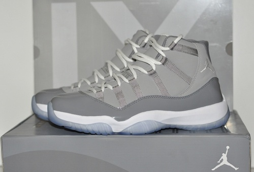 These grew on me very quickly. Hate the yellowing of the sole though. Jordan 11 cool greys