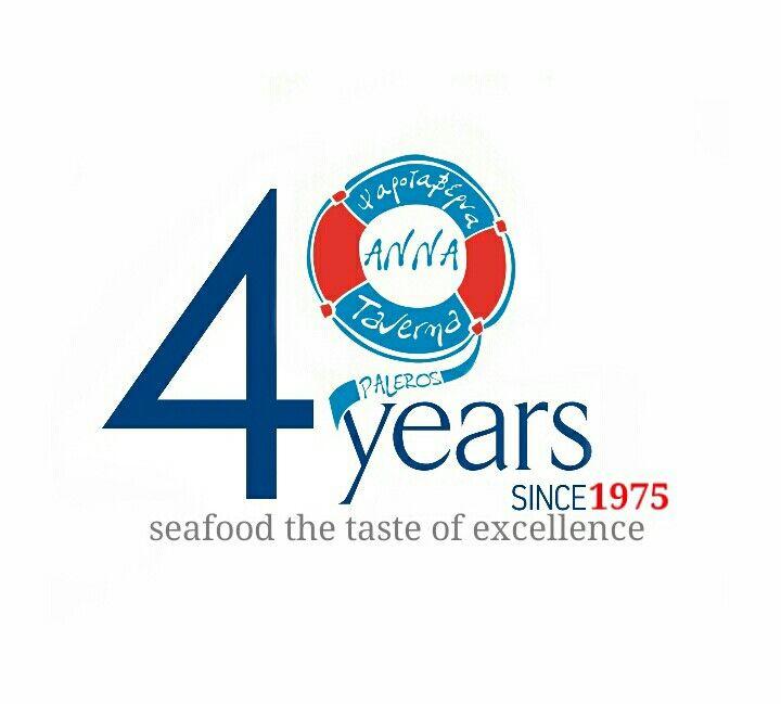 40th anniversary Seafood paleros greece since 1975