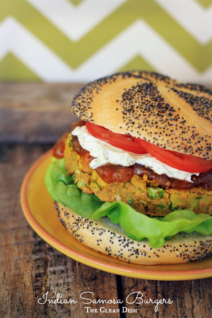 Rouxbe's Indian Samosa Burgers (grain free, gluten free ...
