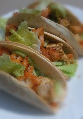 Misz masz by Domi: Tacos z kurczakiem