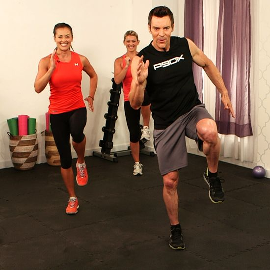 Try This 10-Minute Custom Workout From P90X's Tony Horton! Once in the morning, once after work!