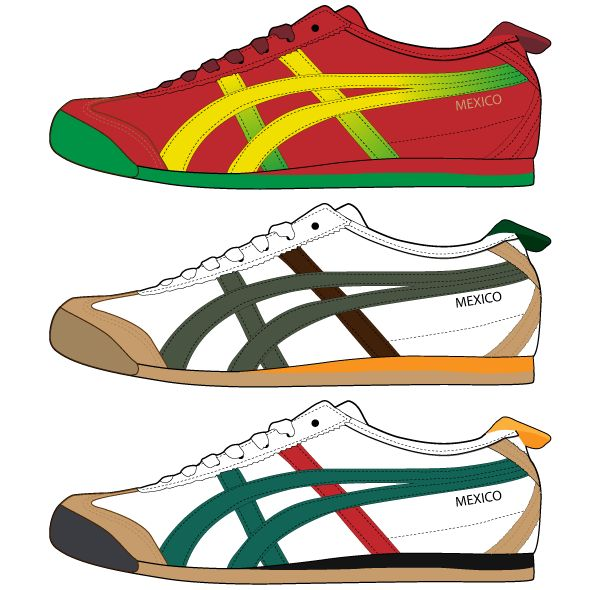 asics logo shoes