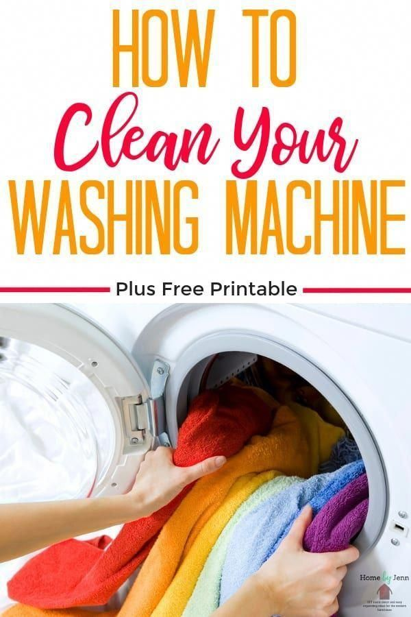 Cleaning your washing machine is important to keep your washing machine smelling…