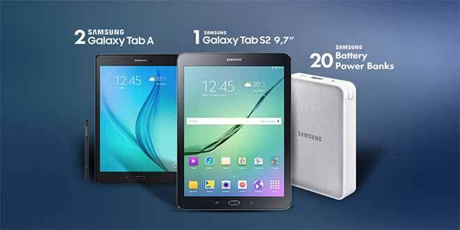 Διαγωνισμός Samsung Galaxy Next Day με δώρο ένα Tablet Samsung Galaxy Tab S2