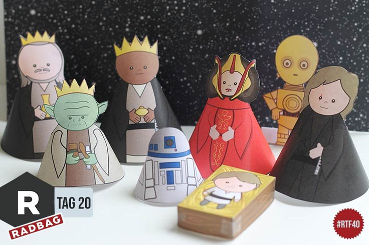 Star Wars in der Weihnachtszeit! Star Wars Krippe zum runterladen als Free Printable. Freebie Star Wars Krippe an Weihnachten zum ausdrucken.