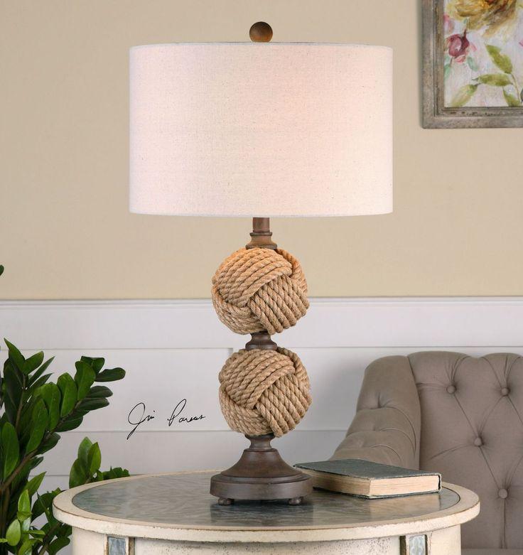 Master Higgins' Rope Spheres Table Lamp
