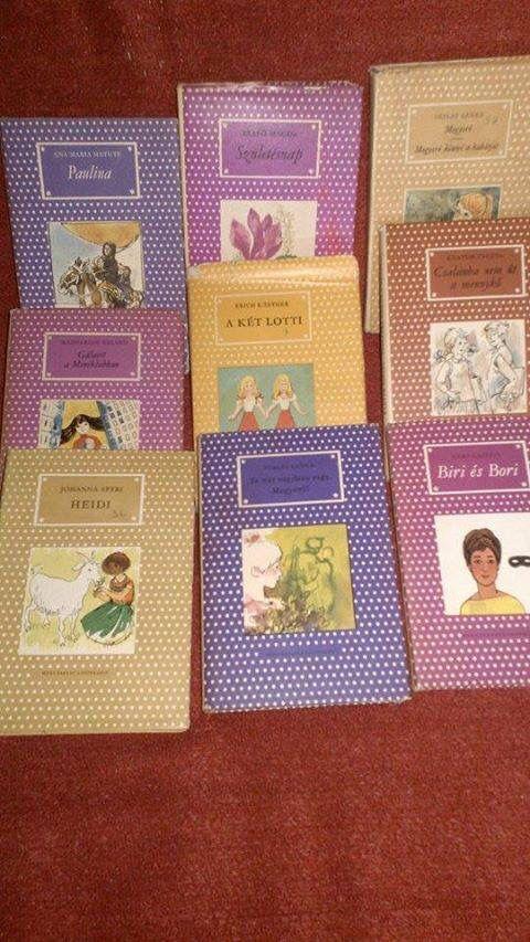 """Pöttyös könyvek   ""   Children   books ,   vintage      Hungary"