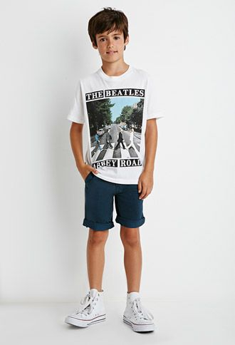 Boys' denim shorts featuring a rib-knit stretch waist can easily be pulled on and off and are flexible enough to withstand a growth spurt. Whether your boy prefers dark or light washes, denim pants are easy to clean and can be thrown directly in the laundry with the rest of his t-shirts, socks and boys' underwear.