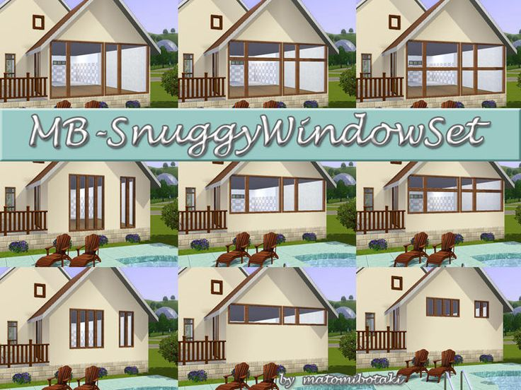 27 best images about the sims 3 cc windows doors on pinterest for Compare new construction windows