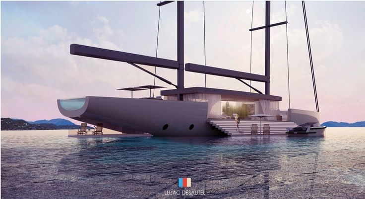 A #view and a direct access to the #sea with #platforms on the sides that open directly on #water. This is #Salt!  ENGL VERSION: http://top-yachtdesign.com/salt-the-importance-of-glass/ ITA VERSION: http://top-yachtdesign.com/it/salt-spazio-al-vetro/