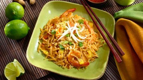 Pad thaï facile à préparer