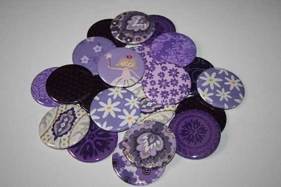 BRIDAL SHOWER FAVORS  15 Mirrors in Purple with by bebesniklefritz, $34.50