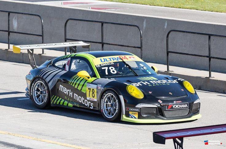 De Angelis Mark Motors Ultra 94 Porsche GT3 Cup Challenge Canada by Yokohama #porsche #gt3 #gt3cup #ctmp #mosport #racing #speed #cars #speedfest