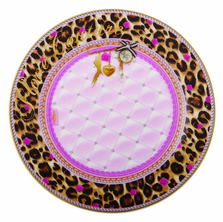 cake plate Leopard - LD by Little Diva - www.lotsofballoons.com