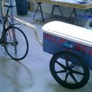 How to build a bicycle trailer.