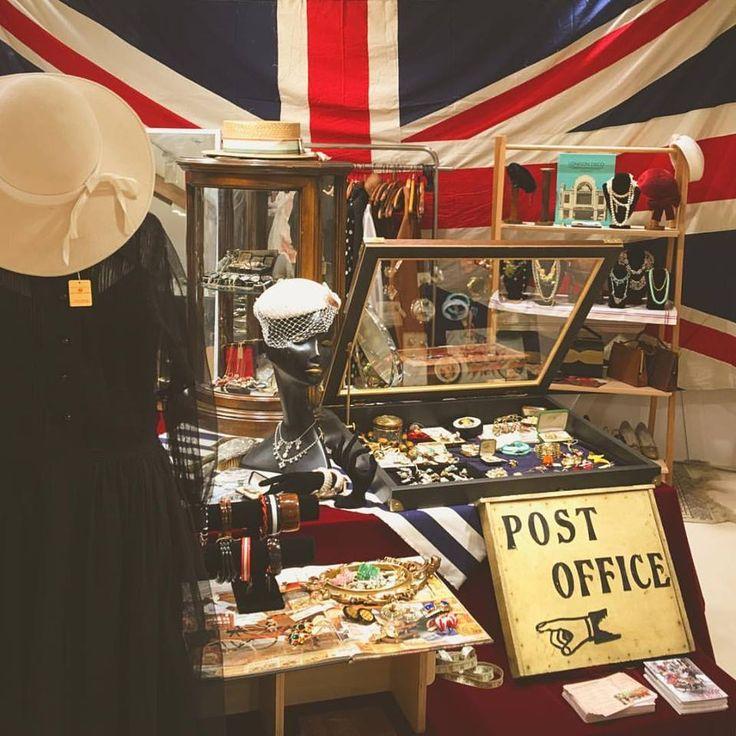 """阪急うめだ英国フェア2016『英国蚤の市』に出店しました。 The Post Office """"Pop Up"""" Shop at Hankyu Department Store /"""