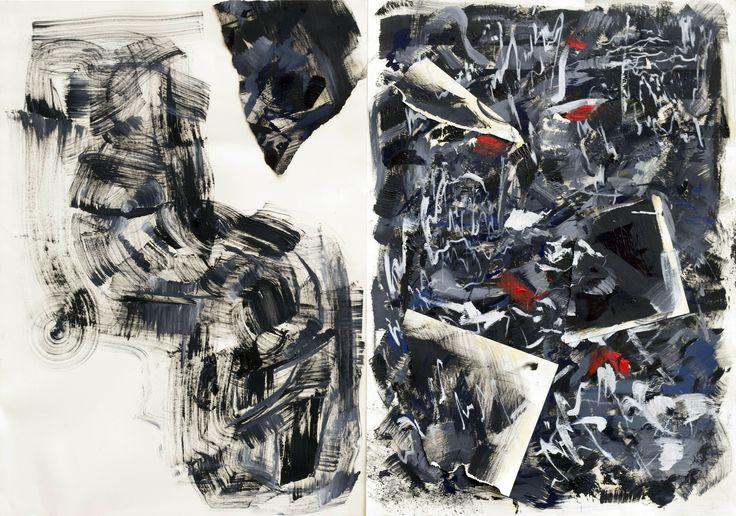 Ekin Can Bayrakdar, İsimsiz / Untitled, 2015, karışık teknik / mixed media, 100x140cm