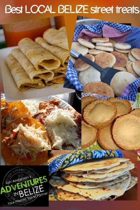 Each six Belize District is known for its unique local cuisine or street treats. Orange Walk Town is famous for its Tacos, while Belize City is known for its Meat Pies for breakfast. #UniquetoBelize #TripstoBelize #LocalCuisine