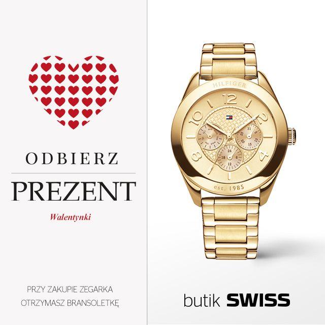 Przyjdź do butiku SWISS w dniach 5 - 14 lutego, kup prezent dla ukochanej osoby i odbierz swój prezent walentynkowy od SWISS. Szczegóły akcji w butiku SWISS.