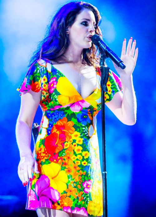 Lana Del Rey at Coachella 2014 (2nd show)  #LDR