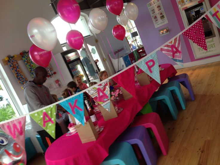 A 6th birthday celebration at Wakaberry George!