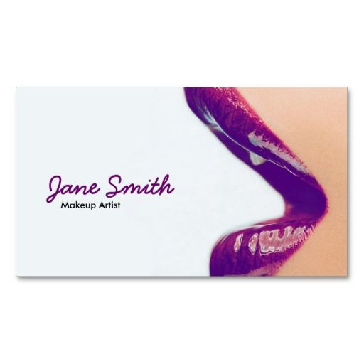 212 best Makeup Artist Business Cards images on Pinterest