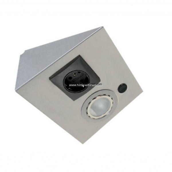HFT TEZGAH ALTI PASLANMAZ INOX TEKLİ PRİZ VE SPOT (HFT22)  Satın almak için : https://www.hirdavatfirsati.com/p-4162-Tezgah-alti-aydinlatma-ve-prizler-Mekappa-paslanmaz-inox-tezgah-alti-toprakli-priz-ve-spot-LDDT22-.html  * Paslanmaz inox malzemeden yapılan panel aydınlatmaları ve prizler gerçekten çok şık ve kaliteli duruyor. Tüm tüketicilere tavsiye ediyoruz. * Prizlerinde Alman Berker firmasının prizi kullanılmaktadır. Bunlar porselenden yapılmaktadır. * Ayrıca tezgah altı bu prizler…