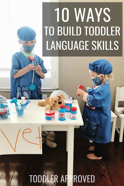 10 Ways to Build Toddler Language Skills