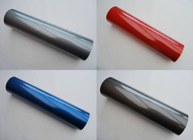 8D Carbon Fibre Vinyl Wrap AirBubble Free Gloss All