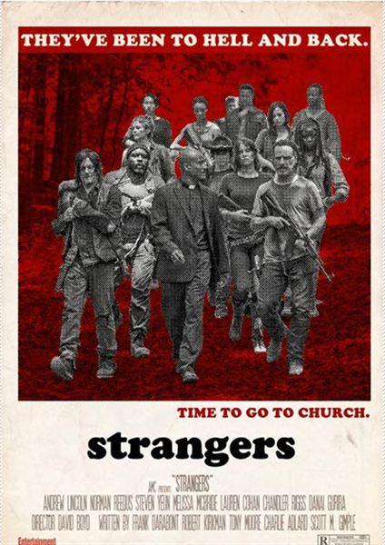 'The Walking Dead': póster retro de los episodios de la quinta temporada - Álbum de fotos - SensaCine.com