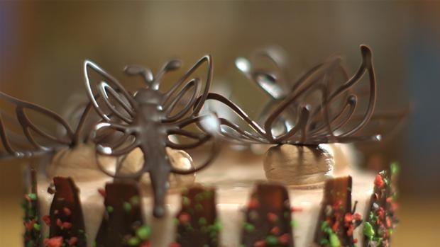 Chokoladesommerfugle | den store bagedyst masterclass