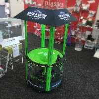 """Award Plastics and Displays are extremely pleased to be a part of the """"magic"""" of Christchurch International Airport's growing Support of the local community.  If you haven't seen these already these are the new Community Fund interactive """"wishing wells"""" developed at the request of The Christchurch International Airport so they can increase the generation of financial donations to a variety of deserving Community organisations."""