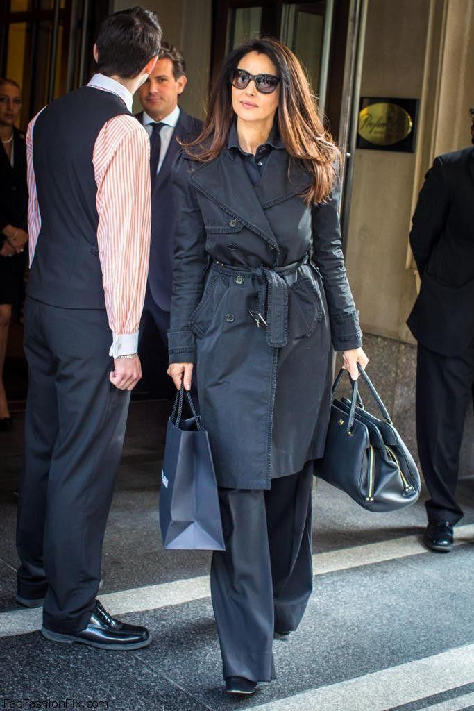 Monica Bellucci Street Style Celebrity Street Style