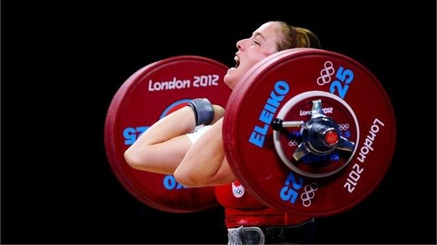 01-08-2012 - Haltérophilie - WL - Women's 69kg - BEAUCHEMIN-NADEAU Marie-Eve