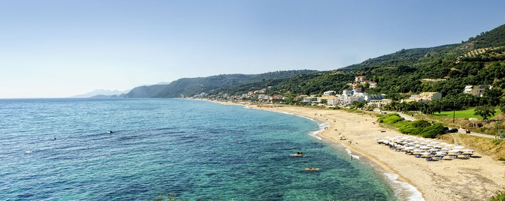 The biggest and most stunning beach and sea of Preveza, with thin golden sand and a fantastic blue and green colour.  http://www.hotelloukas.gr/