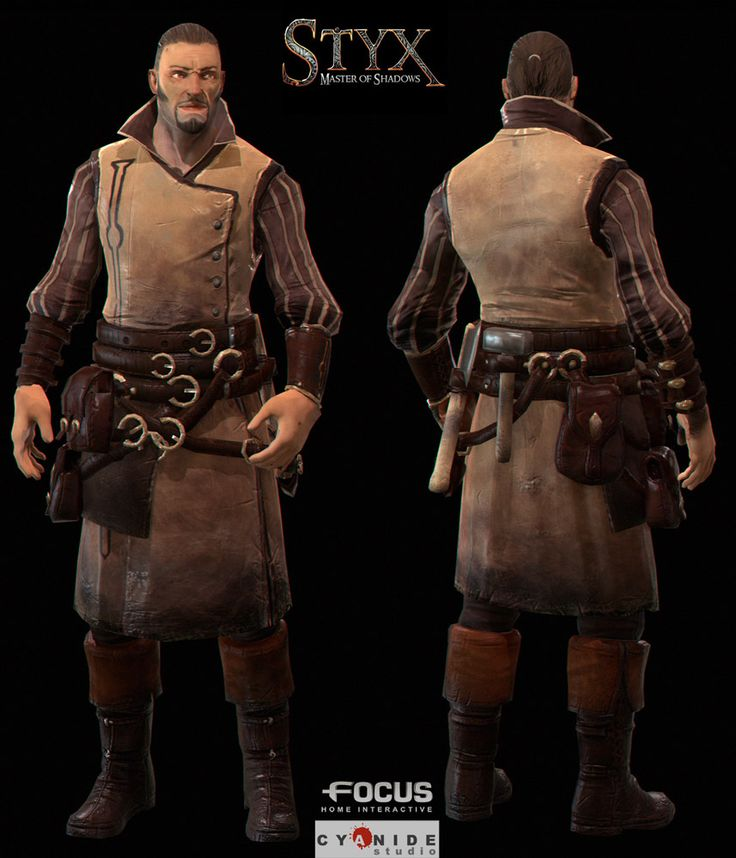 Styx: Master Of Shadows characters - Google Search